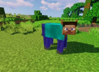 The Steve resource pack for Minecraft - screenshot 1