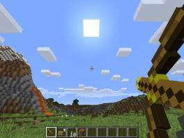Torch Bow mod for Minecraft - screenshot 2
