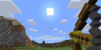 Torch Bow mod for Minecraft - screenshot 2