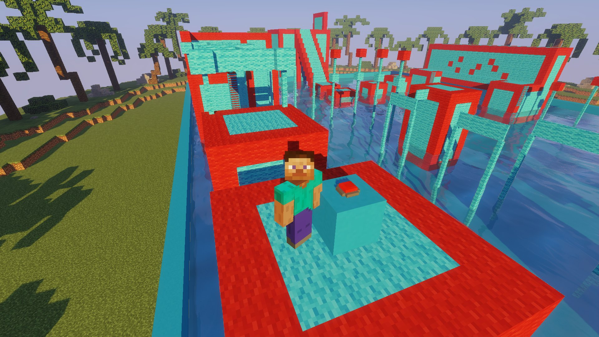 Tropical Wipeout map for Minecraft - screenshot 1