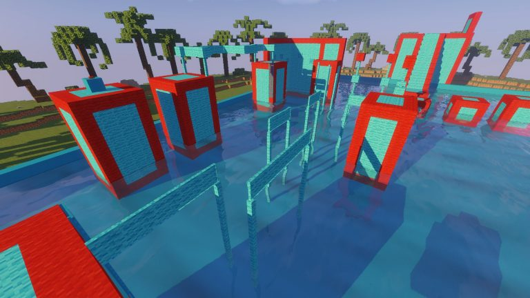 Tropical Wipeout map for Minecraft - screenshot 3