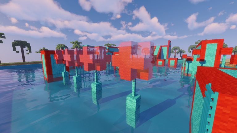 Tropical Wipeout map for Minecraft - screenshot 4