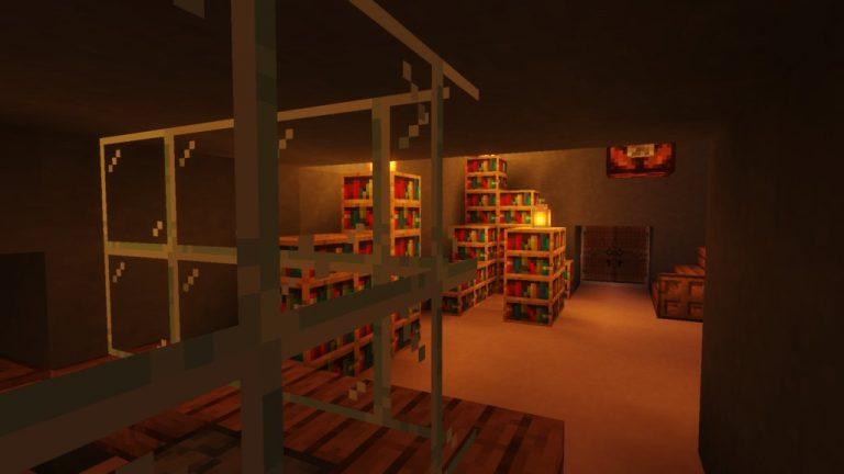 Woodsman map for Minecraft - screenshot 1
