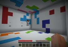 Color Rooms map for Minecraft - screenshot 1