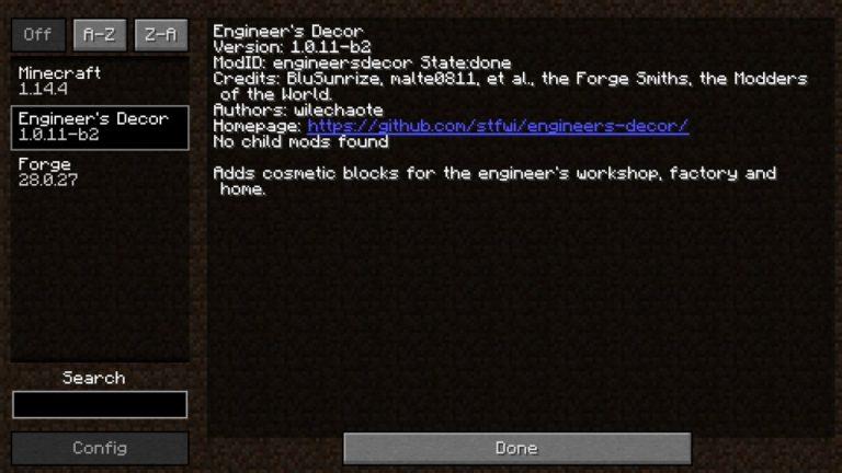 Engineers Decor mod for Minecraft - screenshot 5