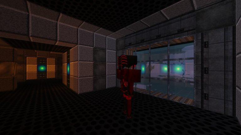 Metroid Bounty Hunter map for Minecraft - screenshot 1