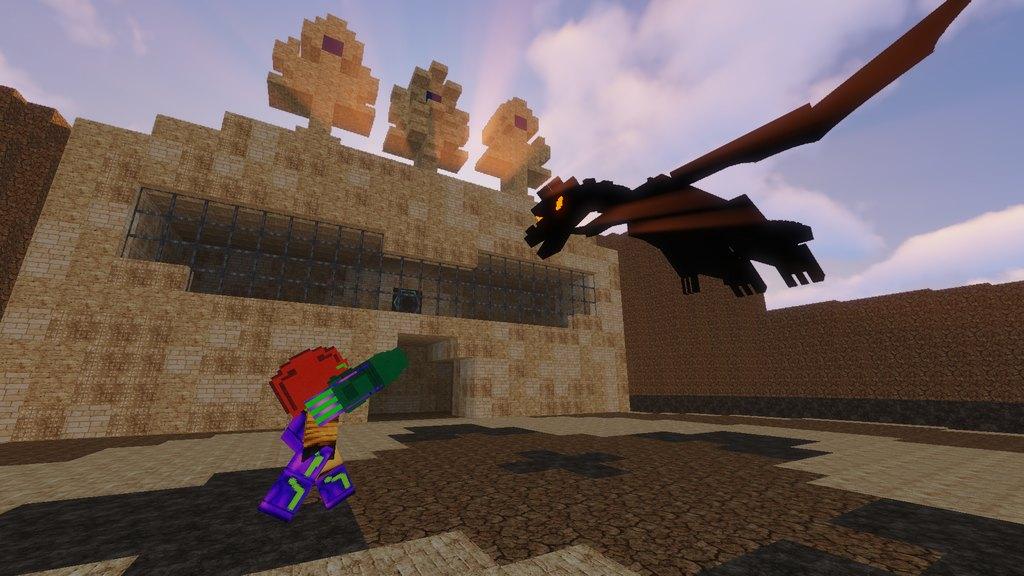 Metroid Bounty Hunter map for Minecraft - screenshot 4