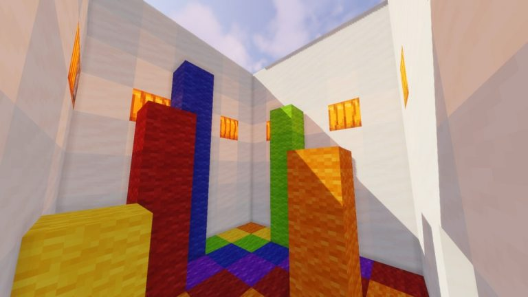 Parkour Super Stages map for Minecraft - screenshot 5