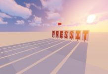 Persist Press It map for Minecraft - screenshot 1