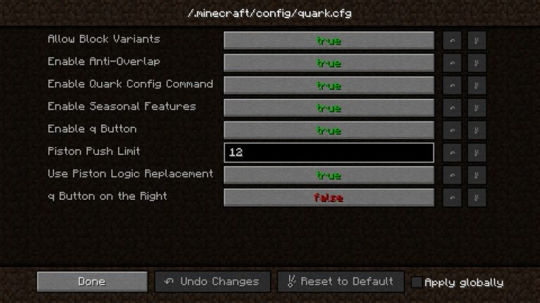 Quark mod for Minecraft - screenshot 3