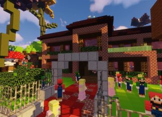 Super Mario Edition - Hide and Seek map for Minecraft - screenshot 5