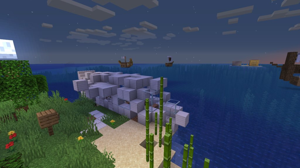 The Cat Islands map for Minecraft 1.14.4 - adventure map