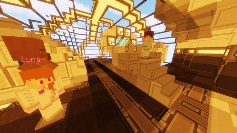 An Interstellar Adventure Ep1 map for Minecraft - screenshot 1