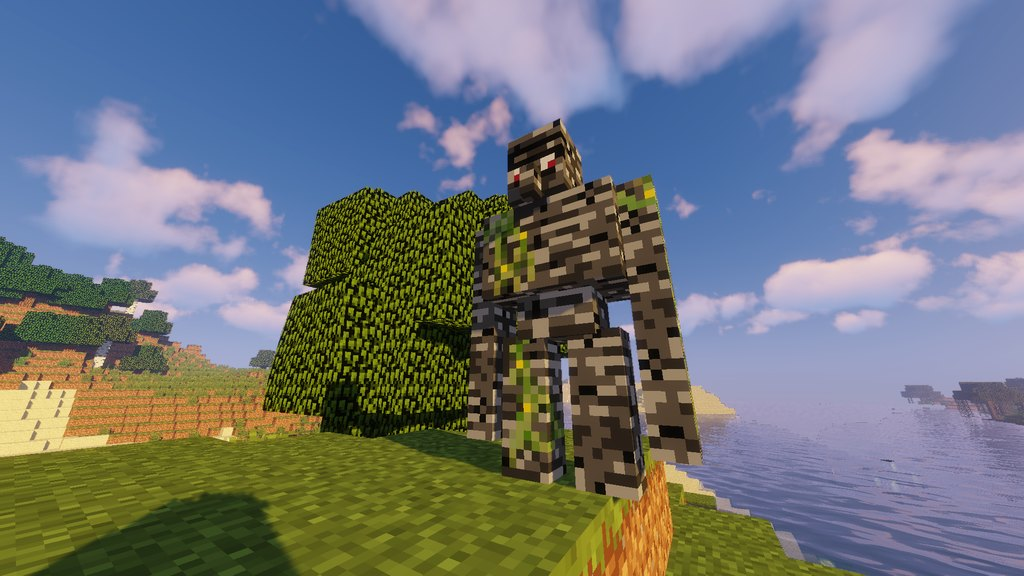 Extra Golems mod for Minecraft - screenshot 1