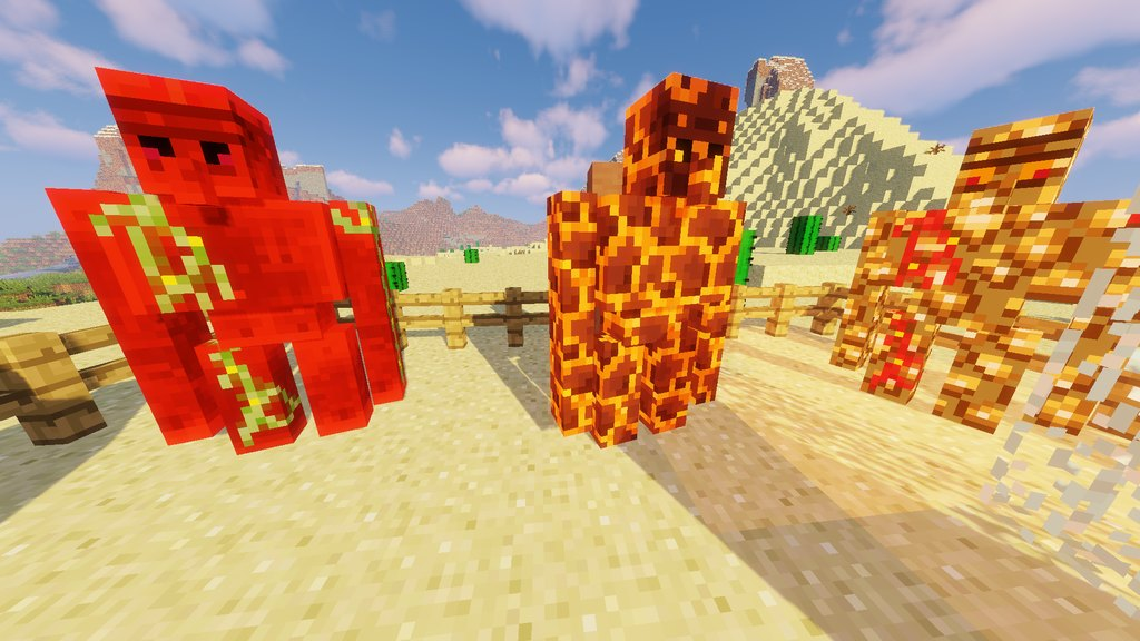 Extra Golems mod for Minecraft - screenshot 5