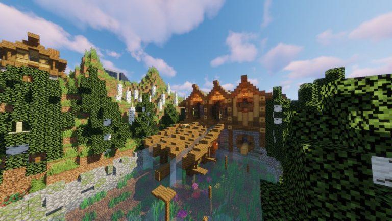 King of Parkour Land map for Minecraft - screenshot 5