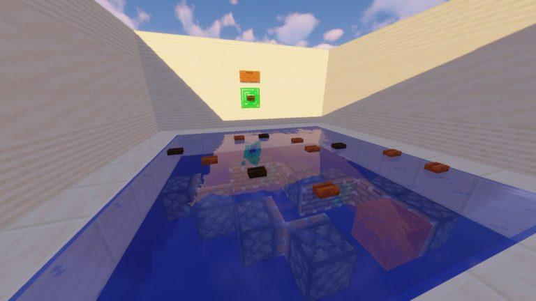 Piston Pushers map for Minecraft - screenshot 1