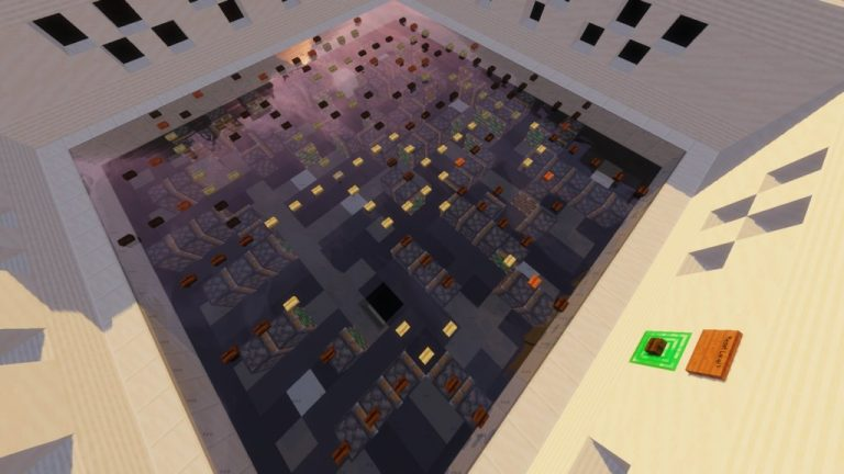 Piston Pushers map for Minecraft - screenshot 3