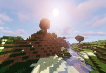 Squares resource pack for Minecraft - screenshot 1