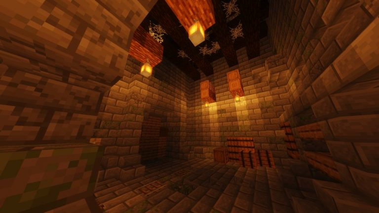 The Lost Dungeon map for Minecraft - screenshot 1