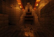 The Lost Dungeon map for Minecraft - screenshot 4