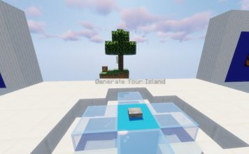 Custom SkyBlocks map for Minecraft - screenshot 4