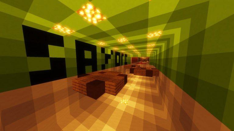 Doki Doki Literature Club parkour map for Minecraft - screenshot 1