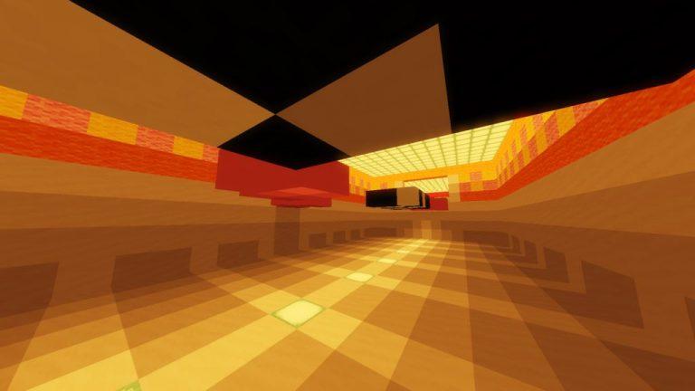 Doki Doki Literature Club parkour map for Minecraft - screenshot 4