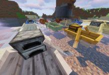 Extra Boats mod for Minecraft - screenshot 4
