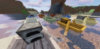 Extra Boats mod for Minecraft - screenshot 4