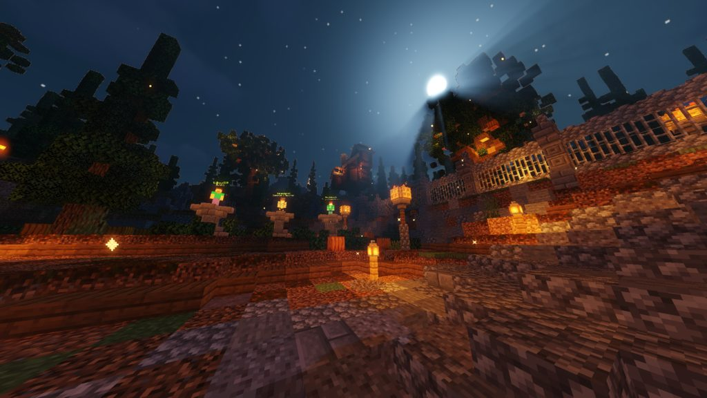Halloween Chaos map for Minecraft - screenshot 1