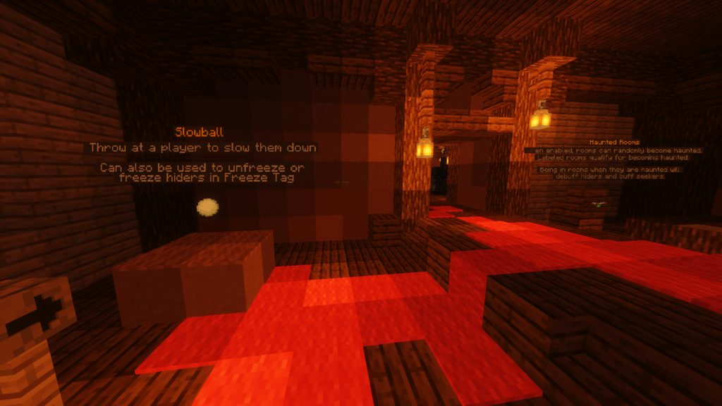 Haunted Hide and Seek map for Minecraft - screenshot 1
