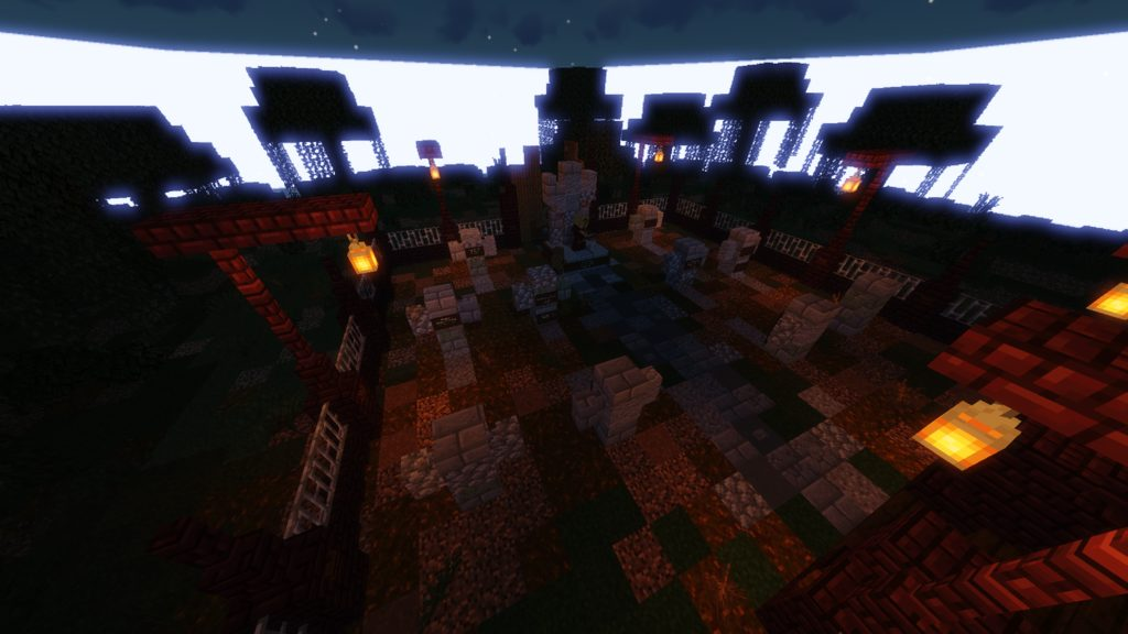 Haunted Hide and Seek map for Minecraft - screenshot 4