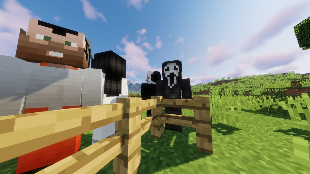 Horror movies monsters mod for Minecraft - screenshot 5