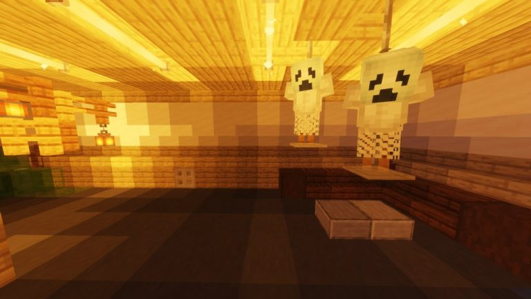 Night Shift on Halloween map for Minecraft - screenshot 1