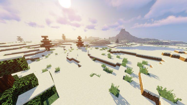Open Grass Lower resource pack for Minecraft - screenshot 1
