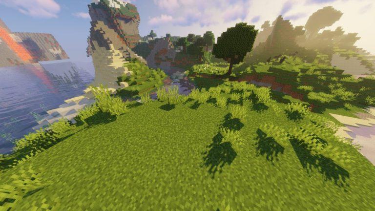 Open Grass Lower resource pack for Minecraft - screenshot 2