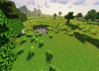 Open Grass Lower resource pack for Minecraft - screenshot 3