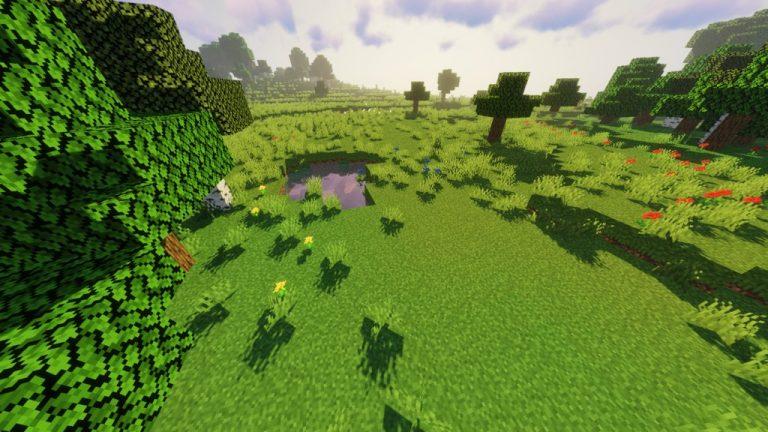 Open Grass Lower resource pack for Minecraft - screenshot 3
