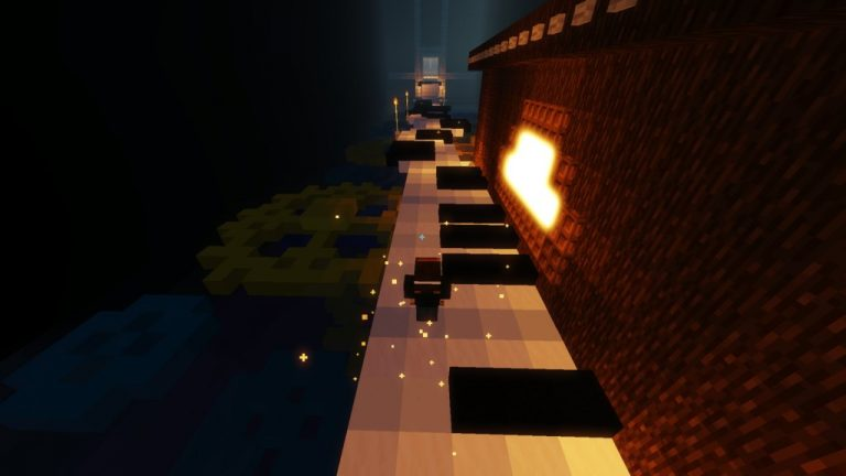 Rolling Sky Fate map for Minecraft - screenshot 3