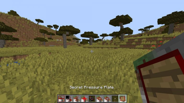 Secret Rooms mod for Minecraft - screenshot 1