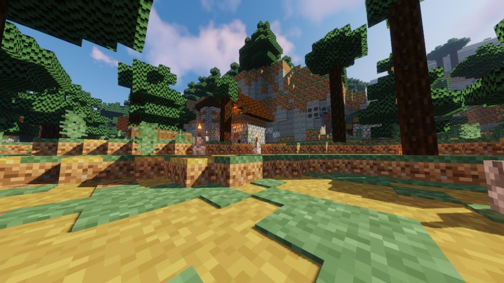 Tobik's 8-bitCraft2 resource pack for Minecraft - screenshot 5