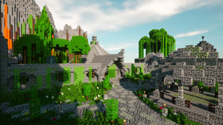 Marcos Signature resource pack for Minecraft - screenshot 3