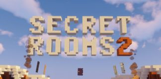 Secret Rooms 2 map for MInecraft - screenshot 1