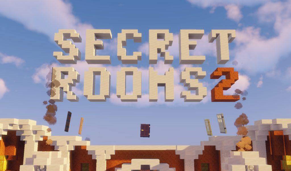 Secret Rooms 2 map for MInecraft - screenshot 1
