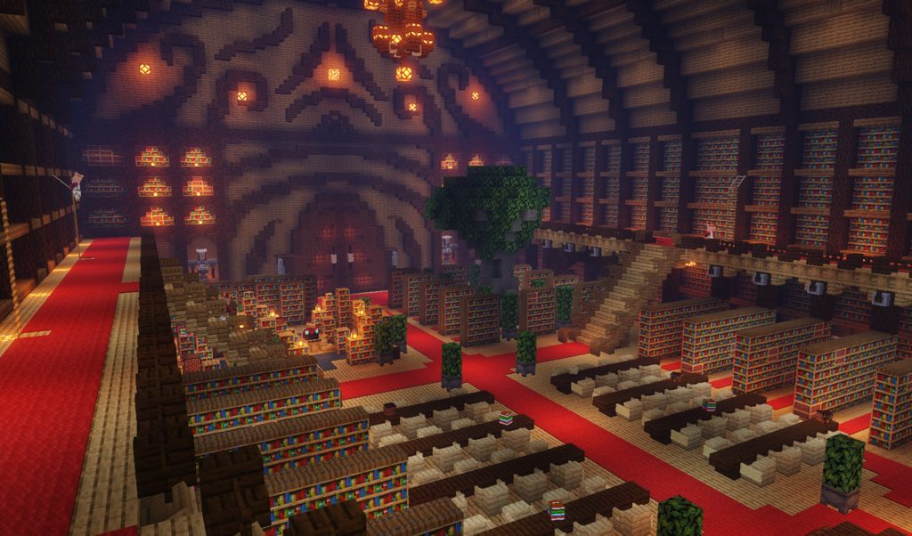 Secret Rooms 2 map for MInecraft - screenshot 4